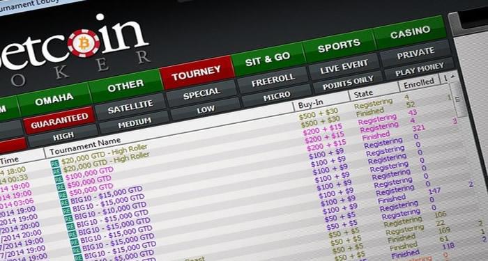 Betcoin Poker Website