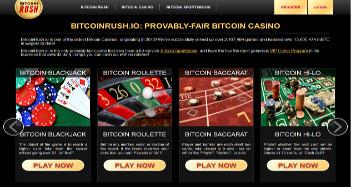 BitcoinRush Casino