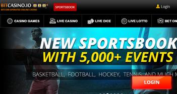 Bitcasino.io Sportsbook