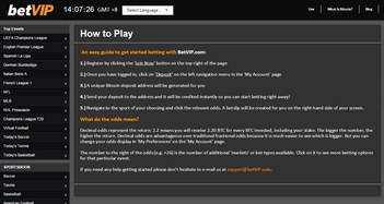 betvip how to play