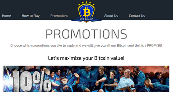 OLE Bitcoin Promotions