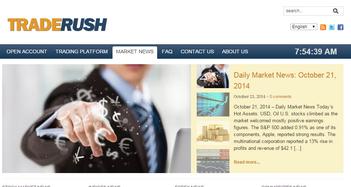 Traderush Market News