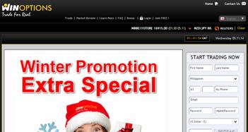 WinOptions Promotions