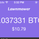 Lawnmower App Invests In Bitcoins For You
