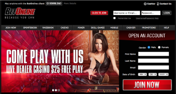 BetOnline Casino Live Dealer