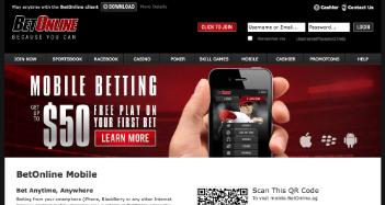 BetOnline Casino Home