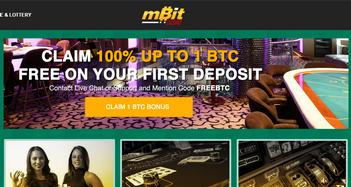 mBit Casino Home