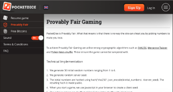 Pocket Dice Fair Gaming