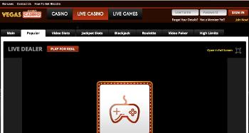 VegasCasino Live Dealer
