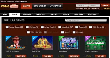 VegasCasino Games