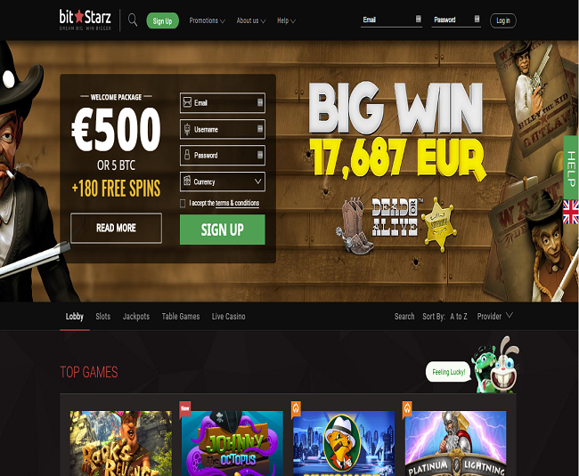Bitstarz Casino Home