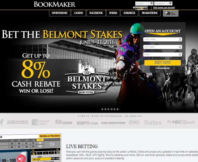 bookmaker home