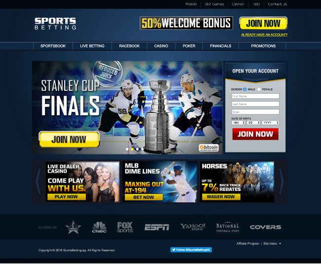 sportsbetting casino Home