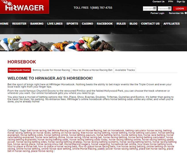 hrwager racebook