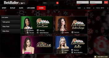 betballer live casino