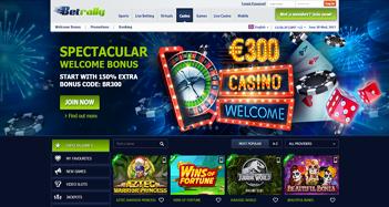 Betrally Casino Home