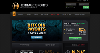 Heritage Sports Live Betting