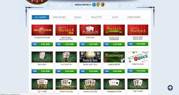 Skybook Casino Games